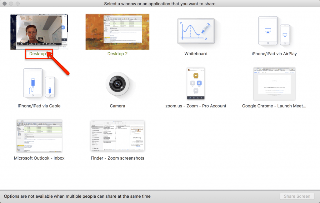 select desktop